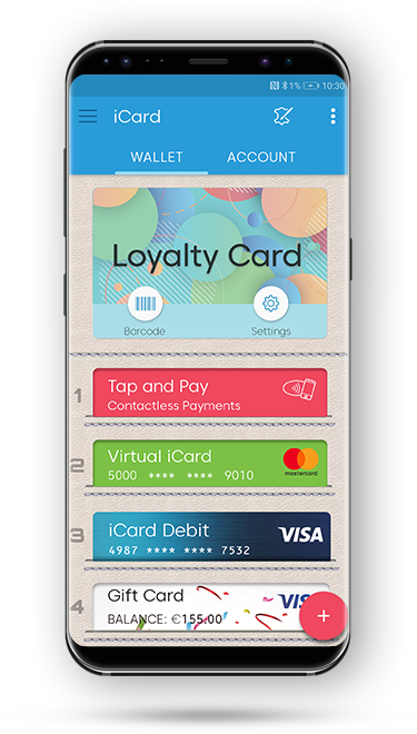 Icard The Digital Wallet You Can Trust No Monthly Fees Plenty Of
