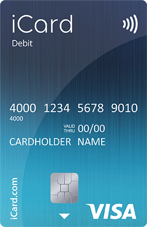 iCard Visa debit card