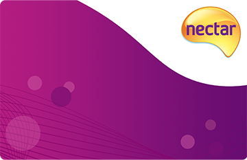 Nectar loyalty card