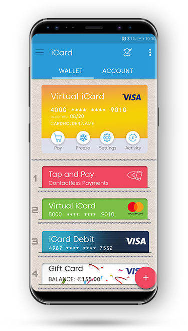 Using virtual cards at checkout